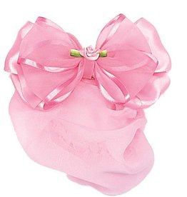 DASHA Sheer Bow snood