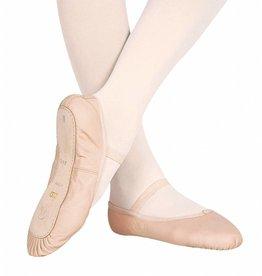 Bloch/Mirella Bloch Dansoft Leather Full Sole Ballet Slippers - Toddler