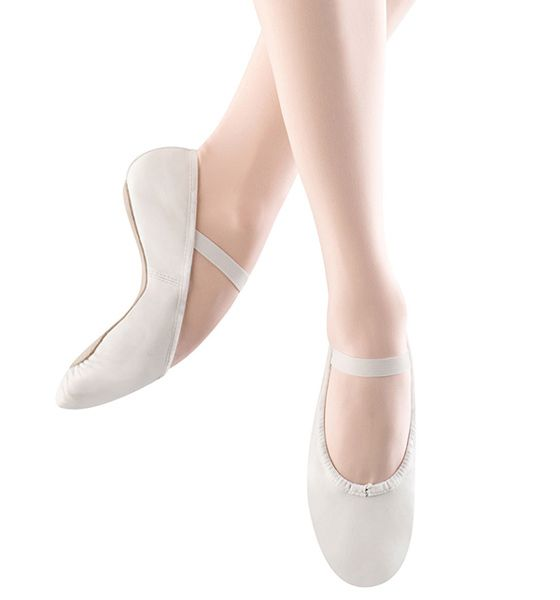 Bloch/Mirella Bloch Dansoft Leather Full Sole Ballet Slippers - Toddler