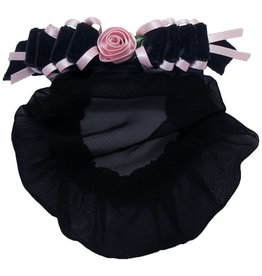 DASHA Velvet Flower Snood