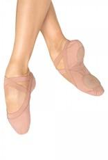 """Bloch/Mirella Bloch """"Pro Elastic"""" Canvas Ballet Shoe"""