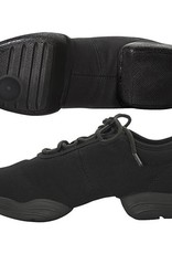 Capezio Capezio Black Canvas Dance Sneaker - Large Sizes