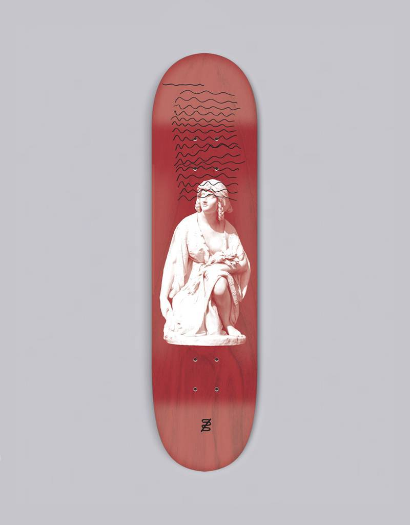 studio skate supply ruth 8.38 deck various stained veneers