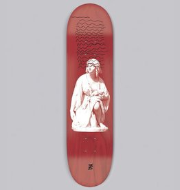 studio skate supply ruth 9.0 football shape deck various stained veneers