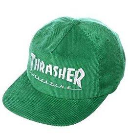 thrasher thrasher mag logo cord hat