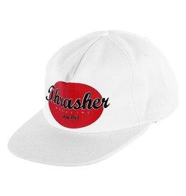 thrasher thrasher oval snapback hat