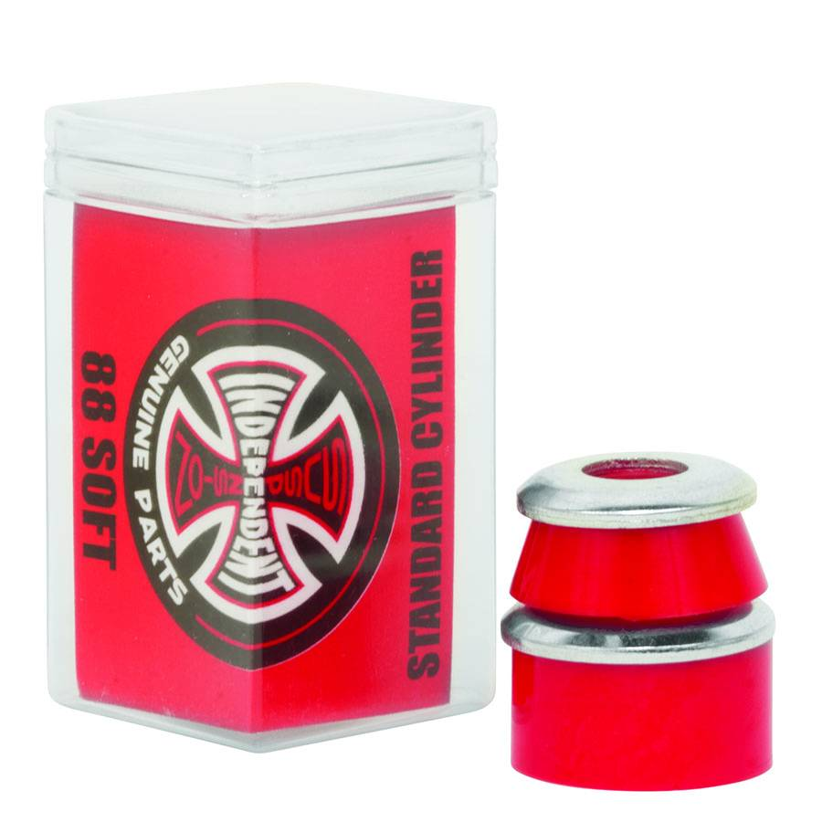independent cylinder red soft standard bushings