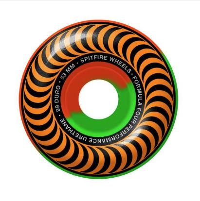 spitfire f4 99 classic 5050 swirl 53mm wheels