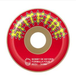 spitfire f4 99 dekeyzer red 54mm wheels