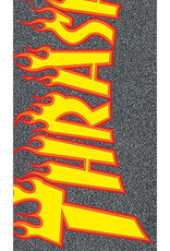 mob grip thrasher yellow and orange flame grip