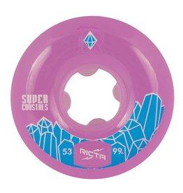 ricta 53mm super crystals purple 99a wheels