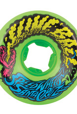 slime balls 56mm vomit neon green 97a wheels
