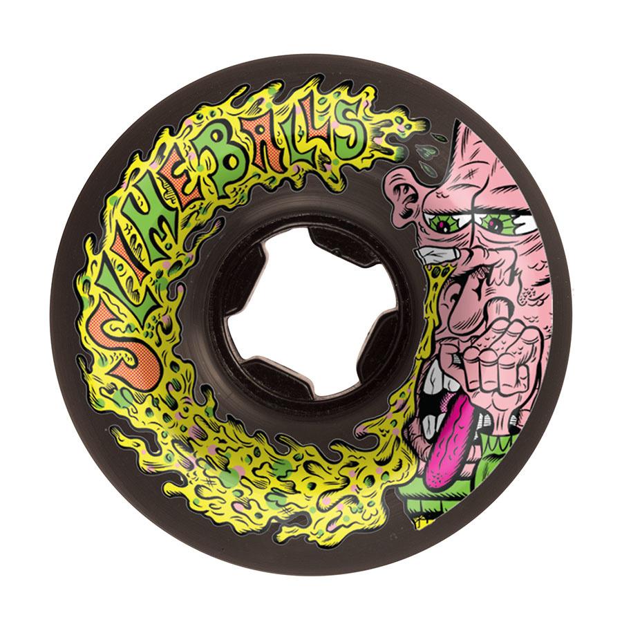 slime balls 56mm snotwheel vomit black 97a wheels