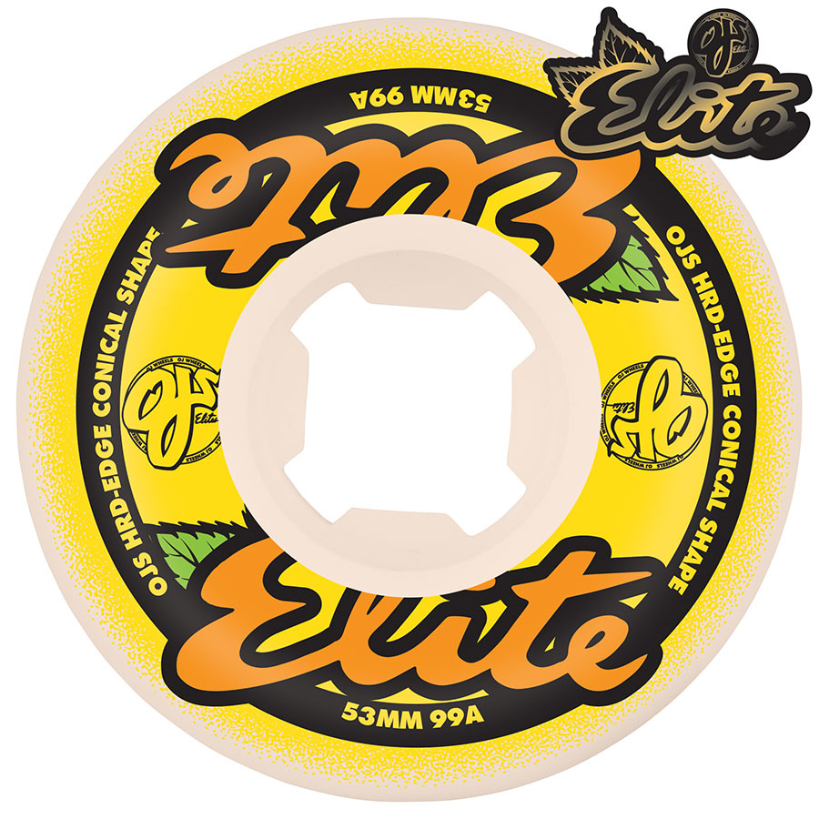 oj wheels 53mm elite hard edge 99a wheels