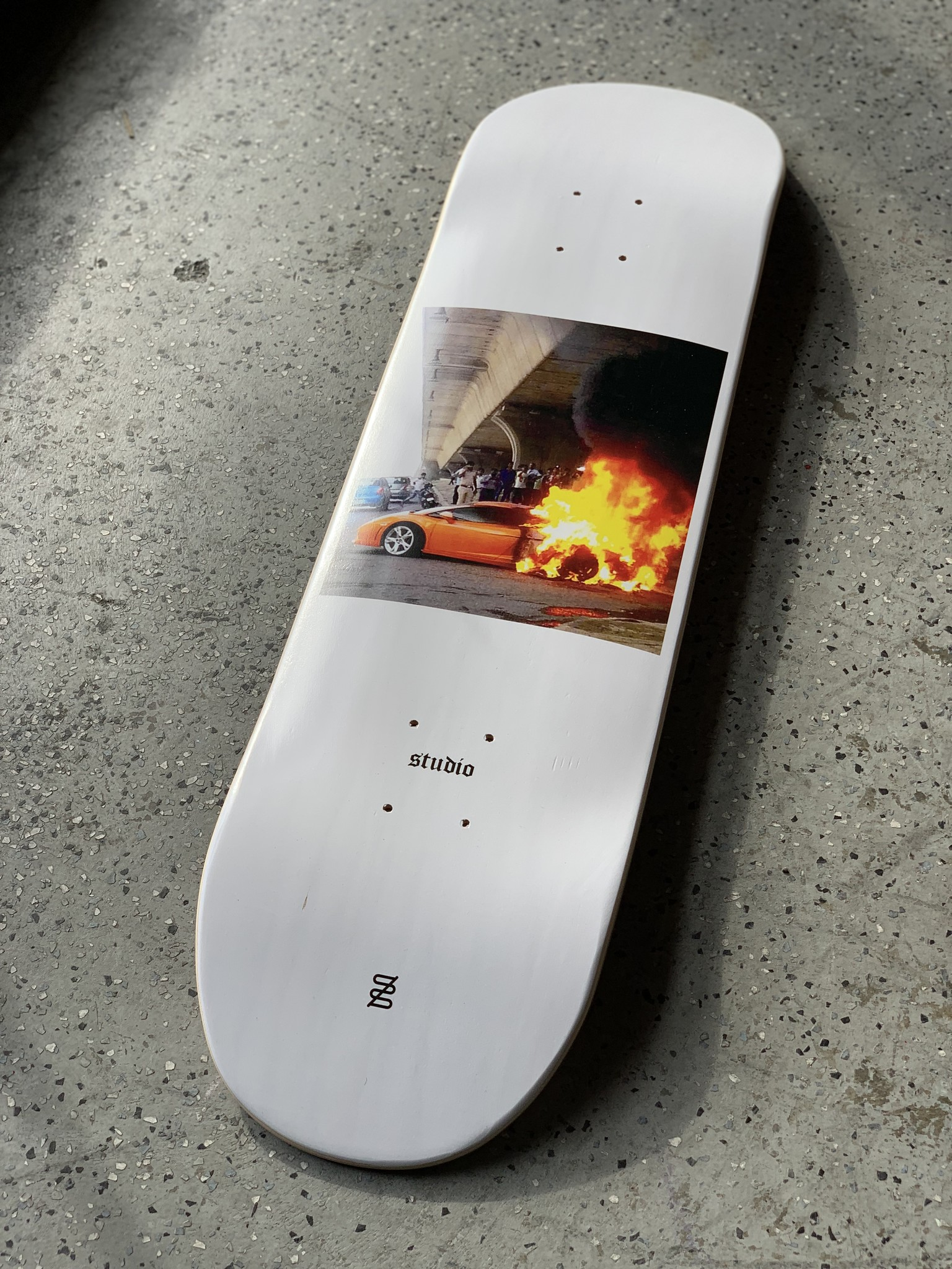 studio skate supply lambo mini 7.25 deck