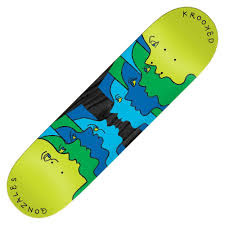 krooked gonz face off 8.62 deck
