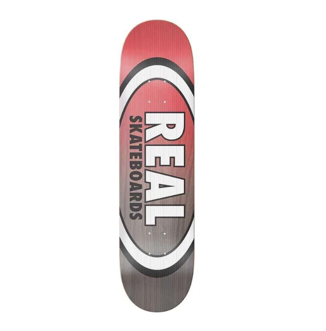 real team shine on oval 8.25 deck
