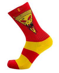 psockadelic figgy red psockadelic sock