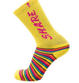 psockadelic share yellow psockadelic sock