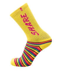 psockadelic share yellow psockadelic sock