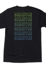 creature horror stacks tee