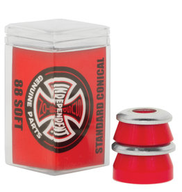 independent conical red soft standard bushings
