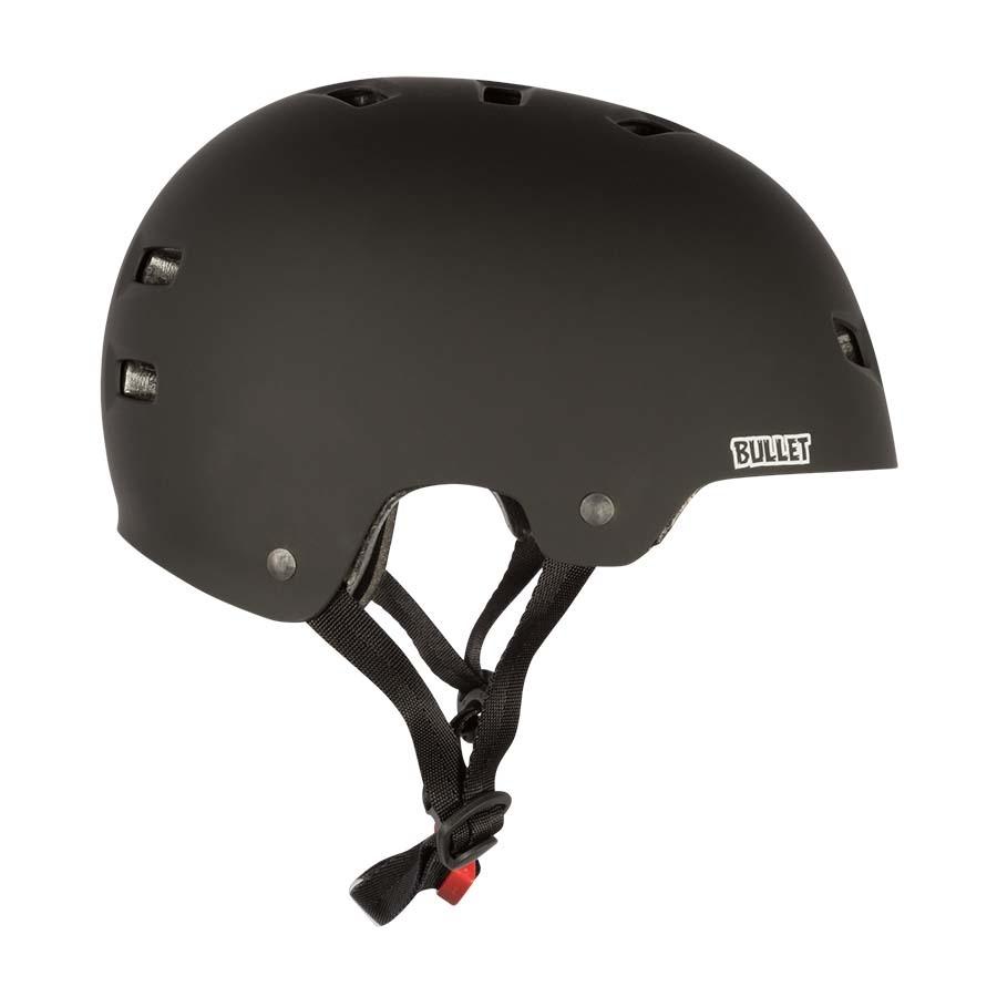 bullet s/m matte black deluxe helmet