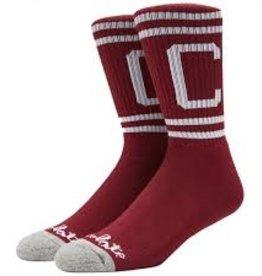 chocolate chocolate stripe c sock