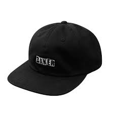 baker brand logo black white strapback