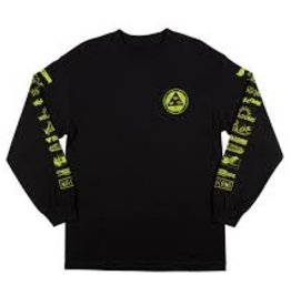 welcome skateboards sponsed longsleeve tee