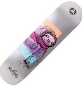 welcome skateboards sloth on bunyip 8.0 deck