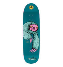 welcome skateboards sloth on atheme 8.8 deck