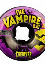 oj wheels 54mm vampire bat bloodsuckers black purple swirl 97a wheels