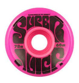 oj wheels 60mm super juice pink 78a wheels