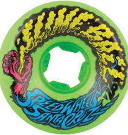 slime balls 54mm vomit mini neon green 97a wheels