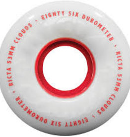 ricta 53mm clouds red 86a wheels