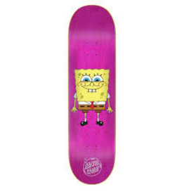 santa cruz spongebob square pants 8.0 deck