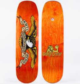 anti-hero shaped eagle overspray orange crusher 9.1 deck