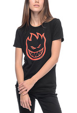 spitfire sf girls bighead black red tee