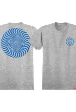spitfire sf youth classic swirl heather blue tee