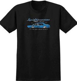 krooked krooked car club black blue tee