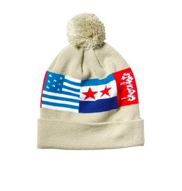 chocolate chocolate classic flags beanie