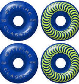spitfire sf 99d classic cobalt blue 52mm wheels