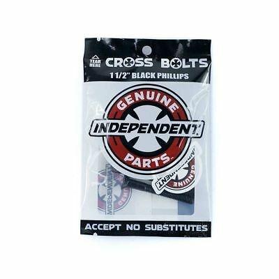 independent independent phillips black 1.5in hardware