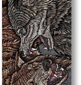 mob grip mob x wolfbat wolves 9in grip
