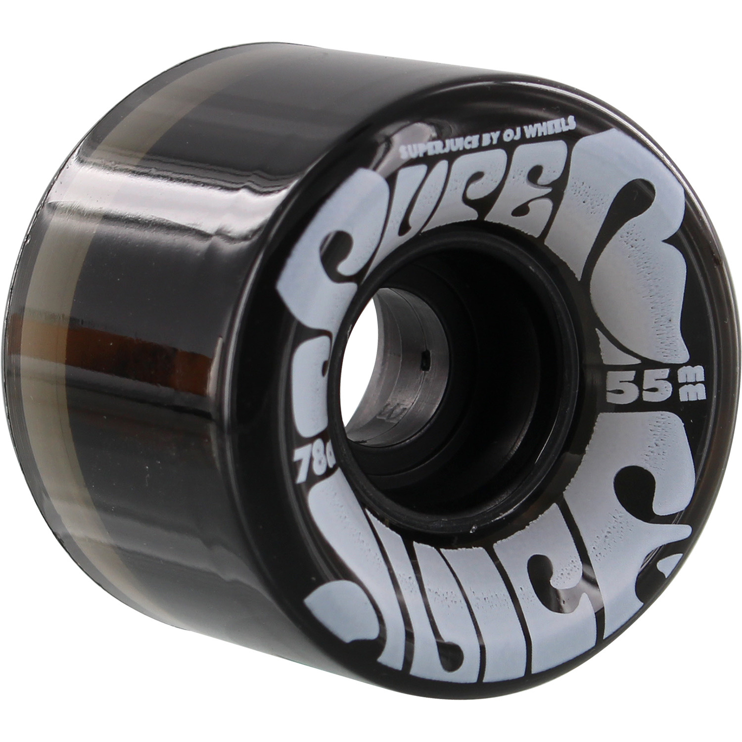 oj wheels 55mm mini super juice trans black 78a wheels