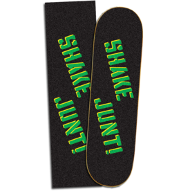 shake junt shake junt sprayed black green grip