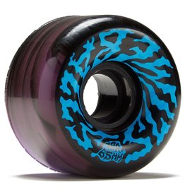 slime balls 65mm swirly black purple swirl 78a wheels