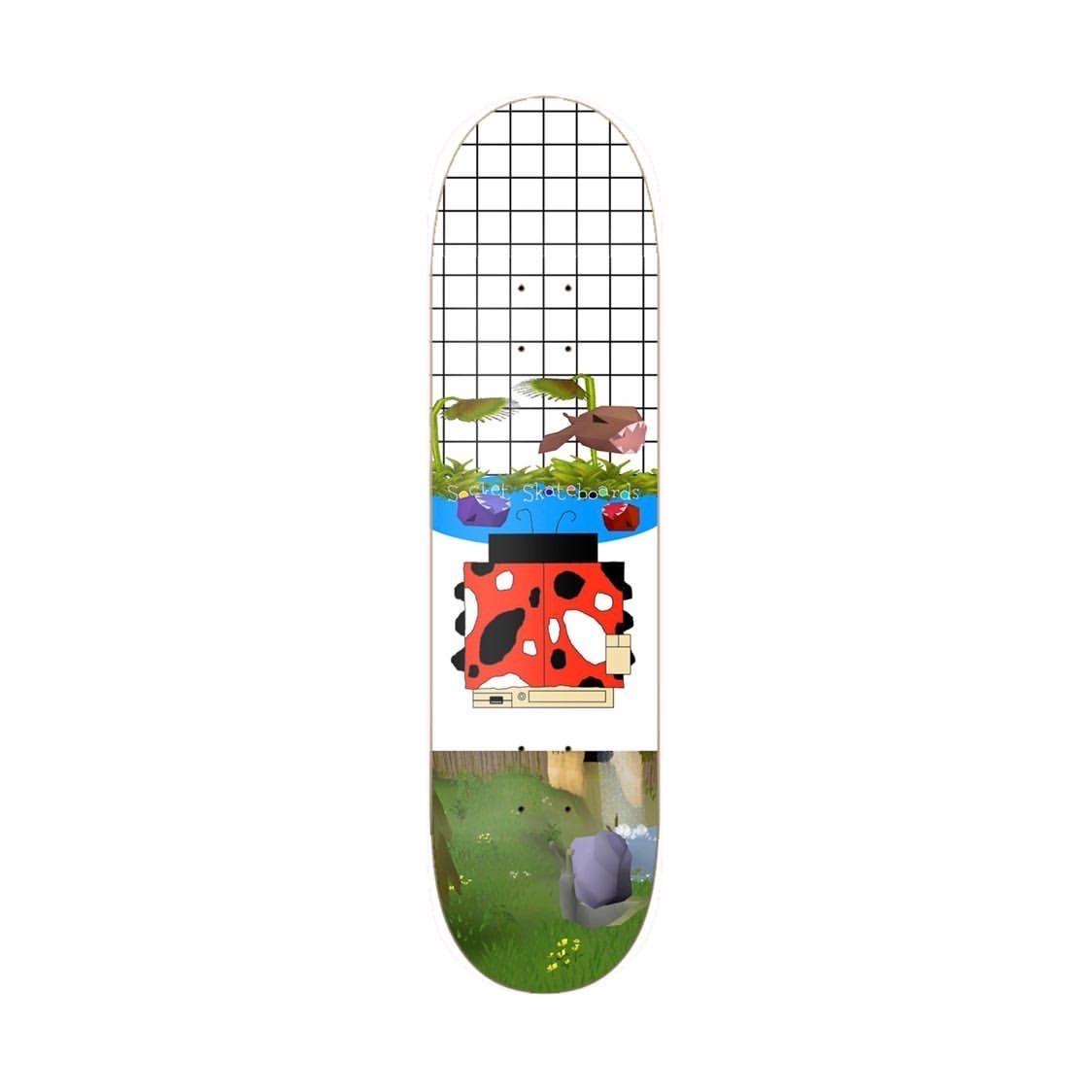 socket skateboards computer bug 8.25 deck
