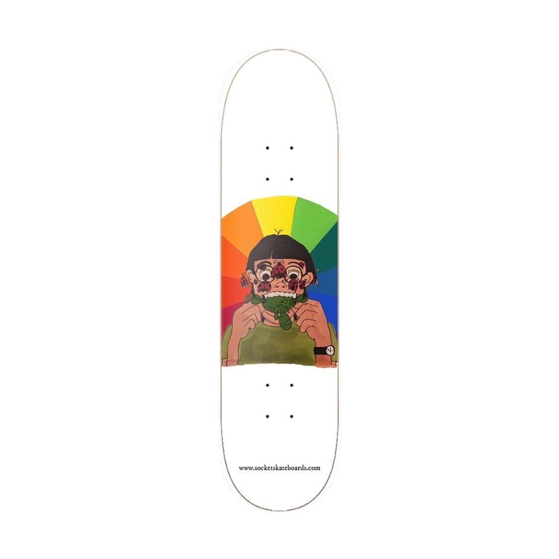 socket skateboards fruit jelly boy 8.25 deck